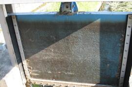 水門塗装の施工前画像