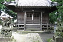 久留米市田主丸の神社の塗装の施工前画像
