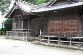 久留米市田主丸の神社の塗装