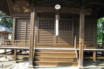 久留米市田主丸の神社の塗装の施工後画像