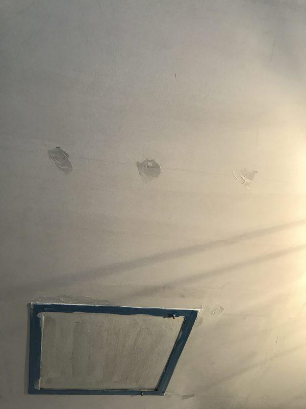 久留米市 内部壁塗装、天井塗装