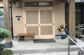 朝倉市S様邸外壁塗装、木部塗装の施工前画像