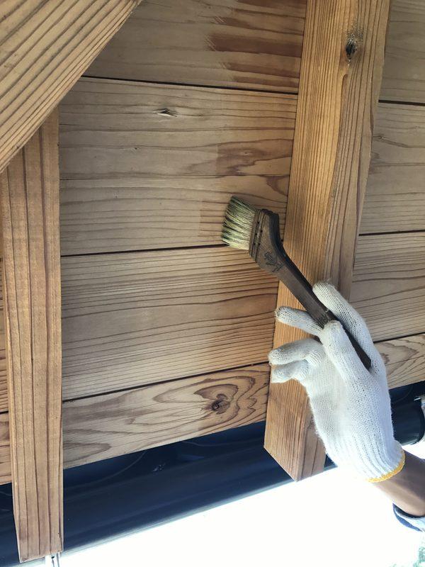 朝倉市S様邸 外壁塗装、木部塗装
