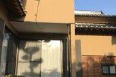 朝倉市S様邸外壁塗装、木部塗装