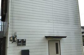 朝倉市K様 事務所 屋根 外壁塗装の施工前画像