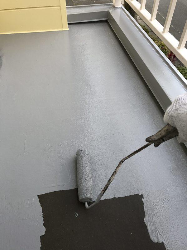 朝倉市K様 事務所、屋根外壁塗装