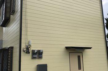 朝倉市K様 事務所 屋根 外壁塗装の施工後画像