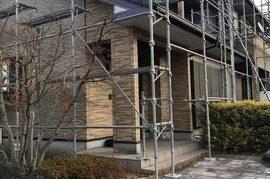 久留米市 S様邸外壁塗装工事の施工前画像