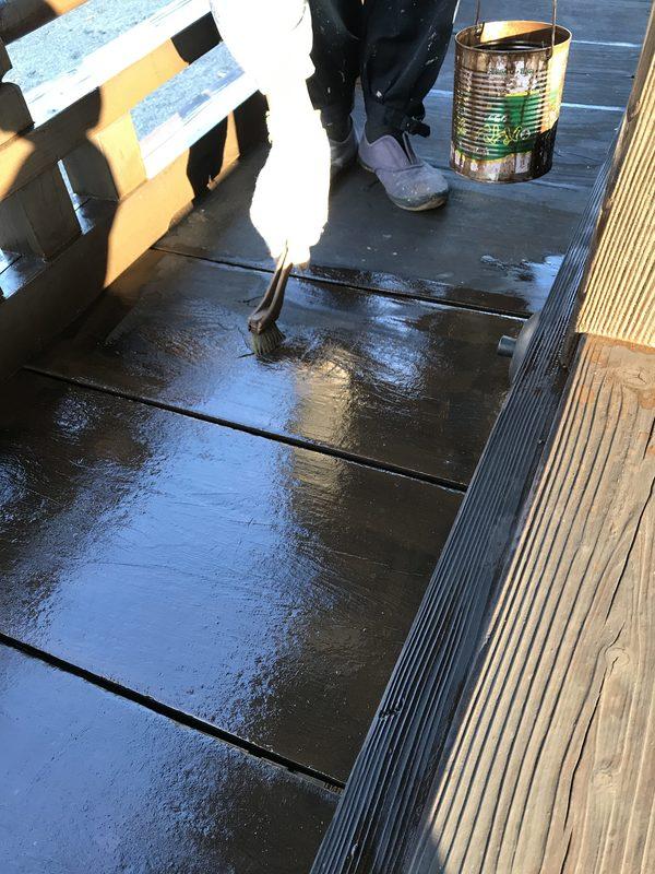 久留米市 木部塗装工事