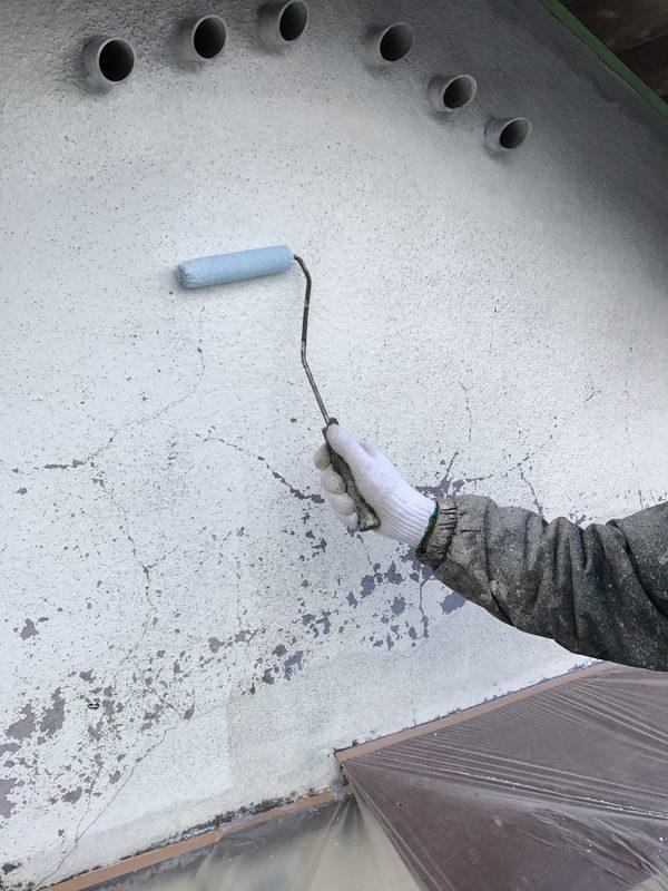 朝倉市 Y様邸外壁塗装、木部塗装