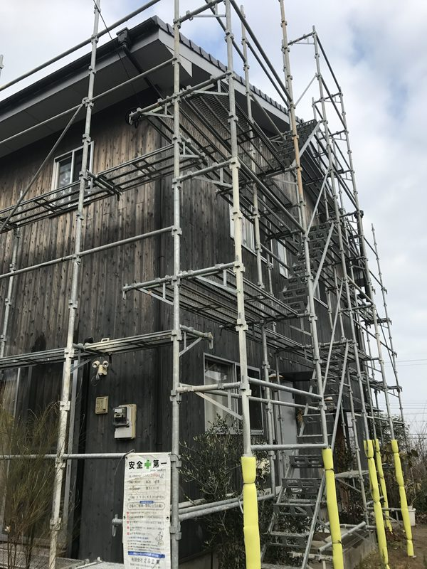 久留米市 G様邸外壁塗装(木板)
