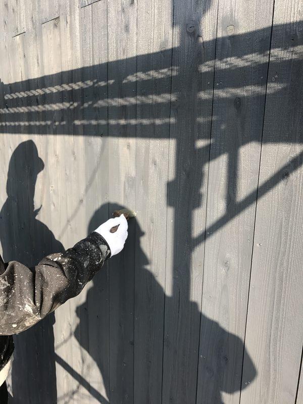 久留米市田主丸町 G様邸外壁(木板)塗装