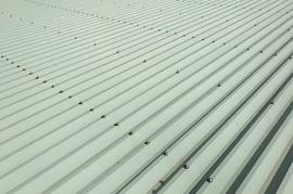 久留米市田主丸町S様邸 折板屋根塗装の施工前画像