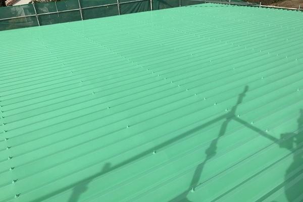 久留米市田主丸町S様邸 折板屋根塗装