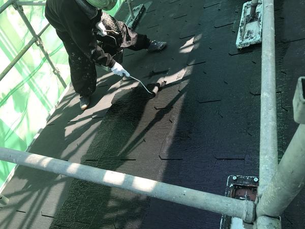 久留米市田主丸町N様邸  屋根塗装