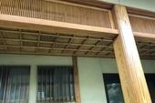 朝倉市 玄関木部塗装
