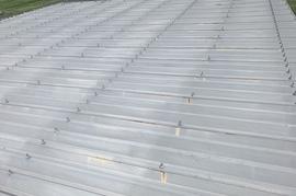 久留米市田主丸町 S様邸折板屋根塗装の施工前画像