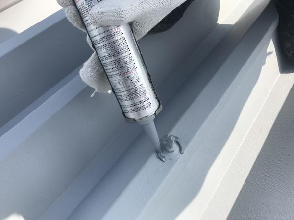 久留米市S様邸 折板屋根塗装