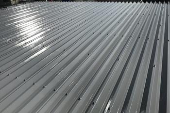 久留米市田主丸町 S様邸折板屋根塗装の施工後画像