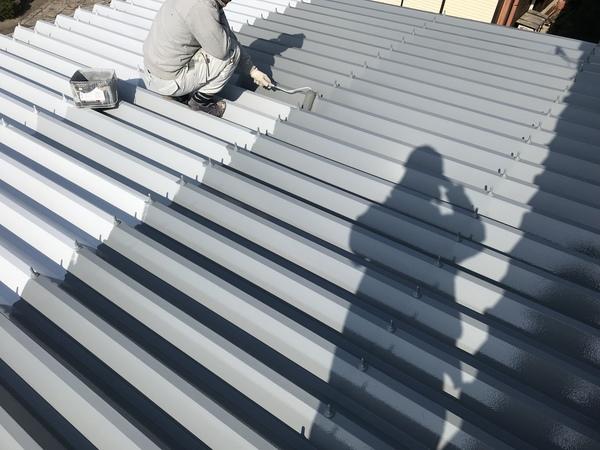 久留米市田主丸町S様邸 外壁塗装、折板屋根塗装