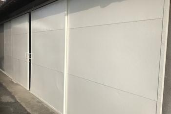 久留米市田主丸町 鉄扉塗装の施工後画像