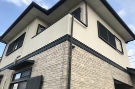朝倉市O様邸 外壁塗装、屋根塗装の施工前画像