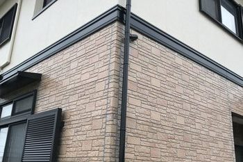 朝倉市O様邸 外壁塗装、屋根塗装の施工後画像