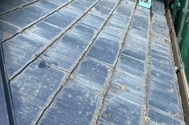 朝倉市 I様邸 屋根塗装の施工前画像