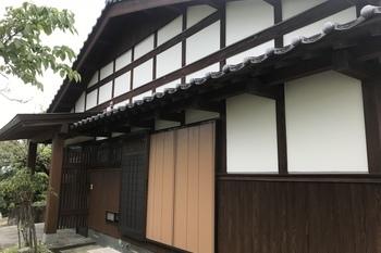 久留米市田主丸町 T様邸外部木部塗装の施工後画像
