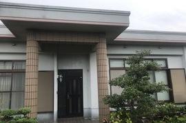 久留米市田主丸町 T様邸外壁塗装、屋上防水塗装の施工前画像