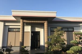 久留米市田主丸町 T様邸外壁塗装、屋上防水塗装の施工後画像