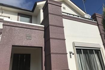 小郡市美鈴の杜T様邸 外壁塗装、屋根塗装の施工後画像