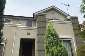 小郡市美鈴の杜T様邸 外壁塗装、屋根塗装の施工前画像