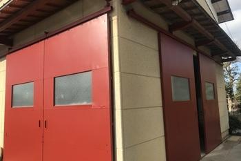久留米市K様邸 倉庫 鉄扉塗装の施工後画像