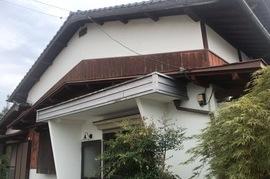 久留米市K様邸 外壁塗装、木部塗装の施工前画像
