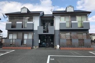 朝倉市アパート外壁塗装