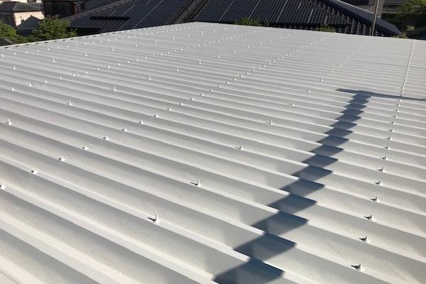久留米市T様 倉庫屋根塗装