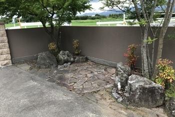 久留米市T様邸 門柱、塀、壁塗装の施工後画像