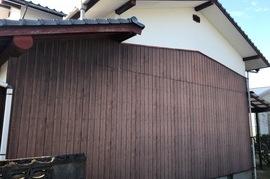 小郡市 外壁部分塗装の施工前画像