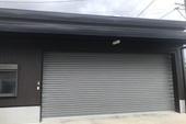 久留米市T様邸 車庫 外壁塗装