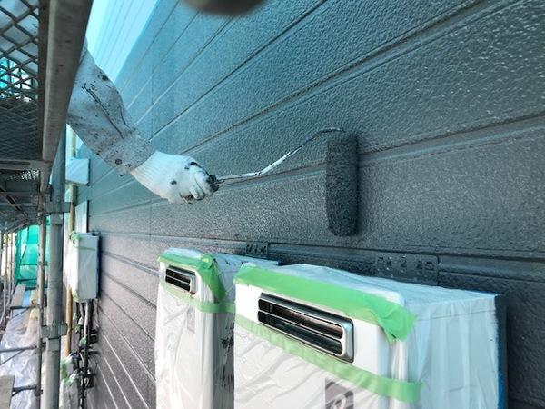朝倉市 アパート外壁塗装、屋根塗装