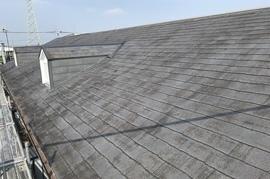 朝倉市 アパート屋根塗装の施工前画像