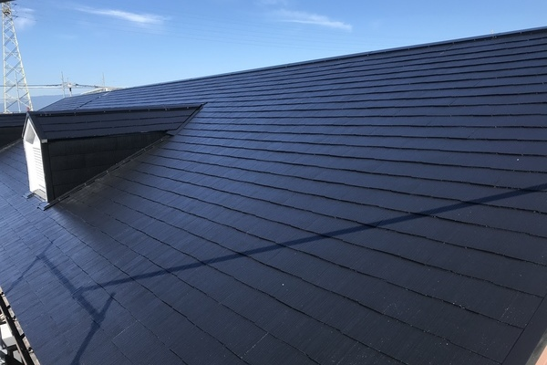 朝倉市 アパート屋根塗装