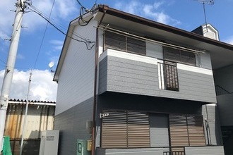 朝倉市 アパート外壁塗装
