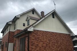 久留米市三潴町 H様邸外壁塗装の施工前画像