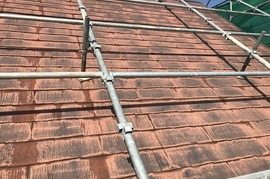 久留米市三潴町 H様邸屋根塗装の施工前画像