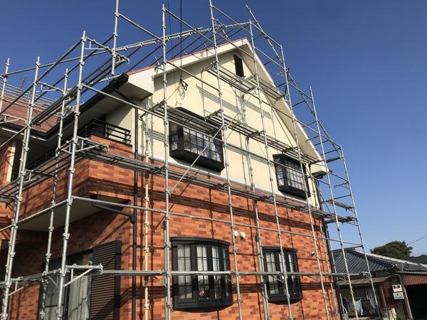 久留米市三潴町 H様邸外壁塗装、屋根塗装