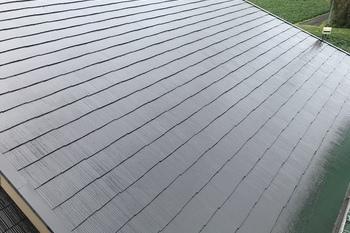 筑前町 M様邸屋根塗装の施工後画像