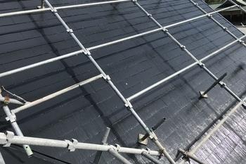 久留米市三潴町 H様邸屋根塗装の施工後画像