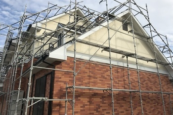 久留米市三潴町 H様邸外壁塗装の施工後画像
